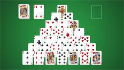 how to play microsoft pyramid